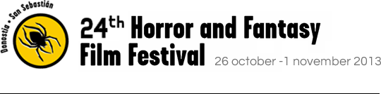24<sup>th</sup> Horror and Fantasy Film Festival. 26 October - 1 November. 2013